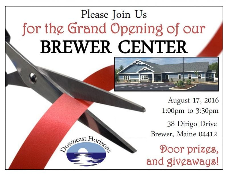 grand opening Brewer center
